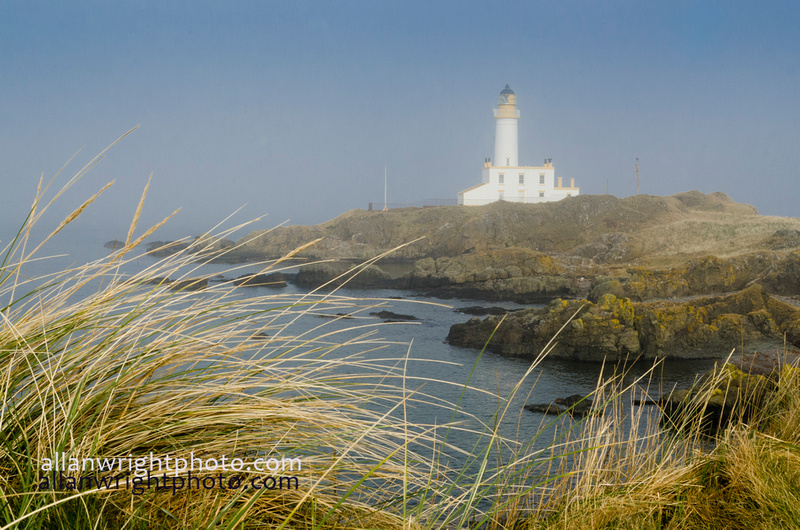 turnberry golf course with lighthouse