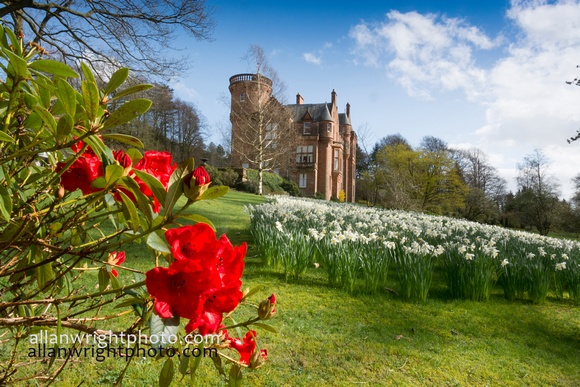 threave house and garden