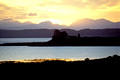 Duart Castle sunrise Isle of Mull